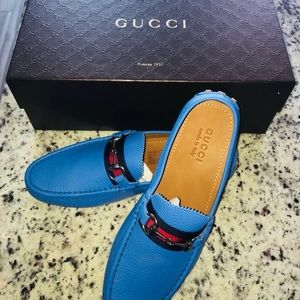 Gucci Men's Leather Loafers
